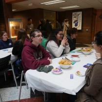 """""""This event is called speed friending and is a way to connect people to [the college] and to more friends,"""" Pedro Slon, student, said . """"It is especially designed for those who find challenging to meet new people and to make new friends. It is about bringing people together."""""""