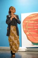 Vickie Casanova Willis at CrImmigration event