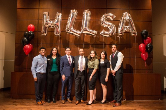 HLLSA leaders with Judge Franklin Ulyses Valderrama