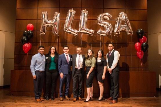 HLLSA leaders with Judge Franklin Ulyses Valderrama