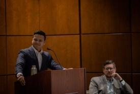 Rexly Penaflorida III, moderator for Corporate Counsel Night 2019