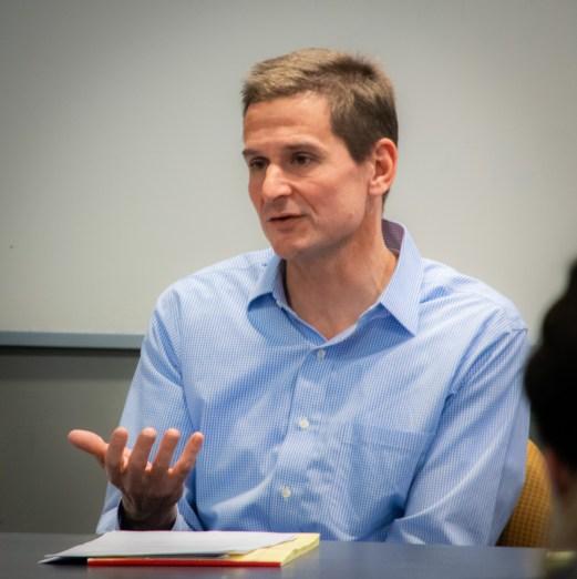 Professor Chris Schmidt speaking at Impeachment 101 PanelProfessor Chris Schmidt speaking at Impeachment 101 Panel