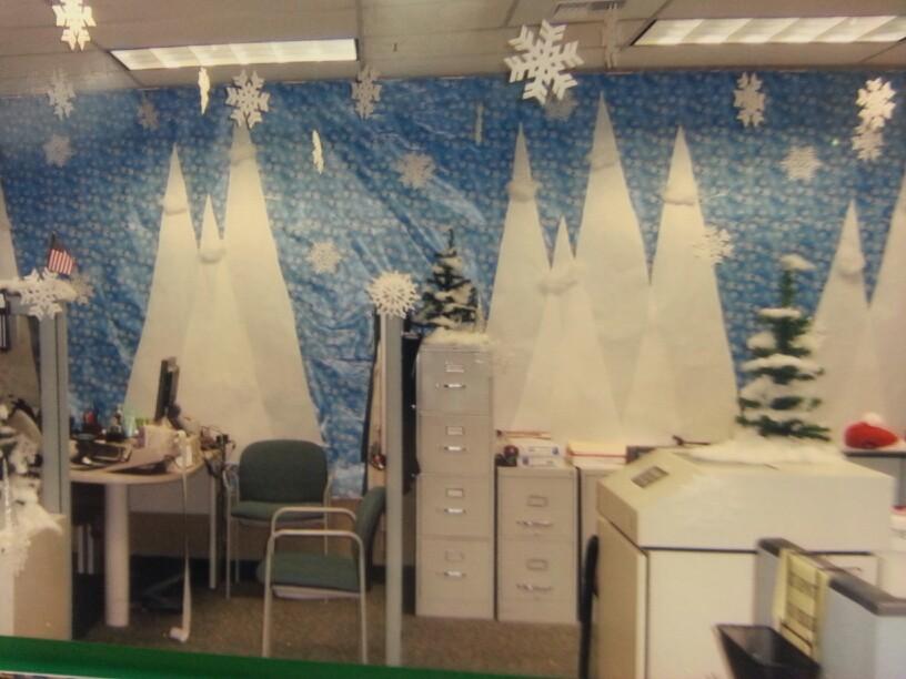 Work Cubicle Office Organization Ideas