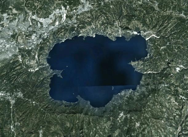 Imagen Satelital de Ilopango por GoogleMaps