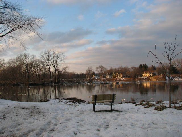 Riverside Park bench (Dec. 29, 2008)