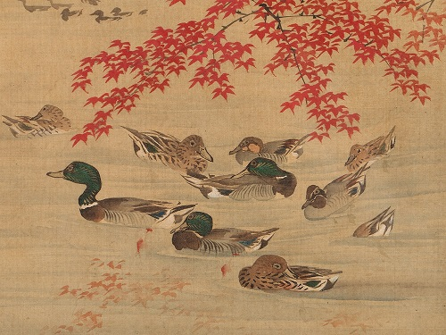 silk-painting-with-ducks-japan