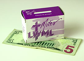 """Offerings given by 250,000 Lutheran Women's Missionary League members nationwide — typically through their contributions to """"mite boxes"""" — fund grants to mission projects worldwide. (Lutheran Women's Missionary League)"""
