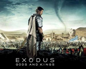 "Christian Bale portrays Moses in the new Ridley Scott film, ""Exodus: Gods and Kings."""