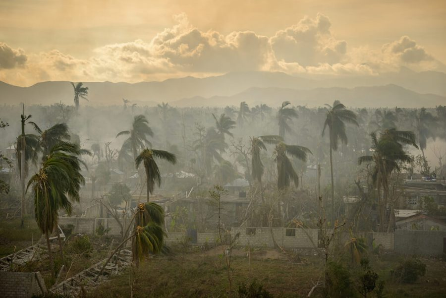 Hurricane Matthew Damage in Haiti