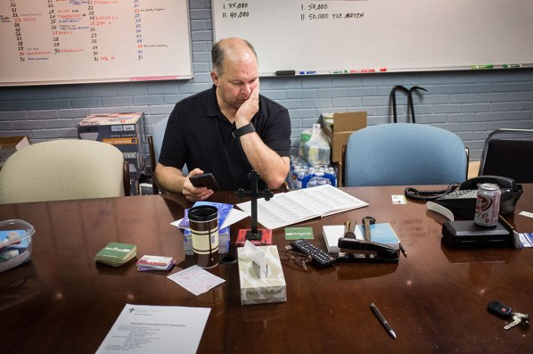 The Rev. David Buss is a key figure in the flood recovery as he works with LCMS Disaster Response, the LCMS Southern District and Lutheran Church Charities to coordinate recovery efforts.