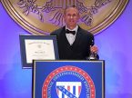 Michael Yurk, principal of St. Paul Lutheran School in Grafton, Wis., is honored as a 2017 National Distinguished Principal by the National Association of Elementary School Principals. The award was presented on Oct. 13 during a ceremony at the Capitol Hilton Hotel in Washington, D.C. (Joy Yurk)