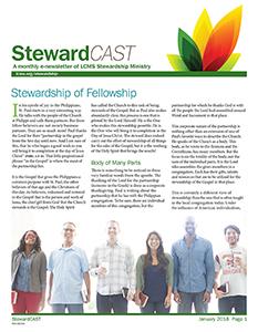 LCMS January 2018 StewardCAST Newsletter