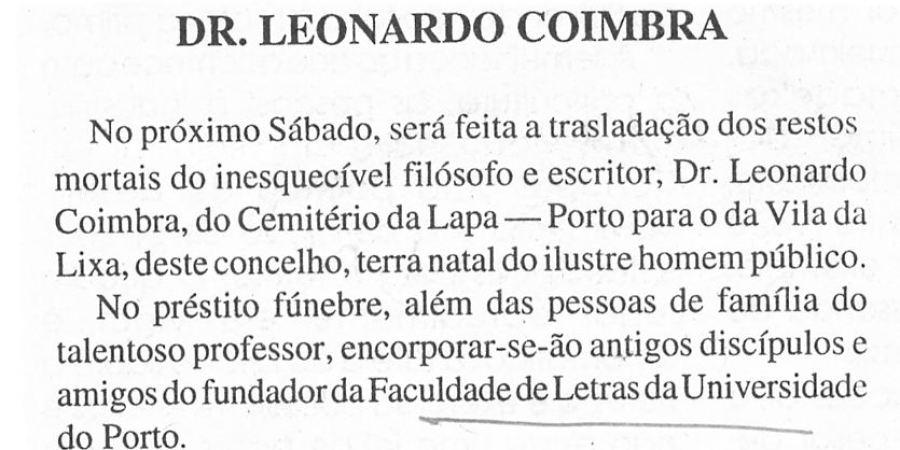 """(331) """"Dr. Leonardo Coimbra"""" - 1996 05 16 Noticias de Felgueiras ...-40r"""