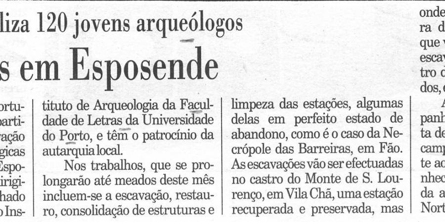 """(248) """"Escavações em Esposende"""" - 1997 08 08 Publico ...-90r"""