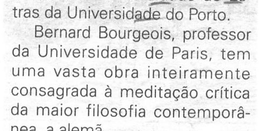 "(228) ""Bernard Bourgeois na FLUP"" - 1998 02 12 JNoticias ...-70r"