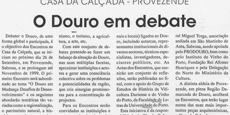 """(203) """"O Douro em debate"""" - 1998 09 24 LamegoHoje ...-180r"""
