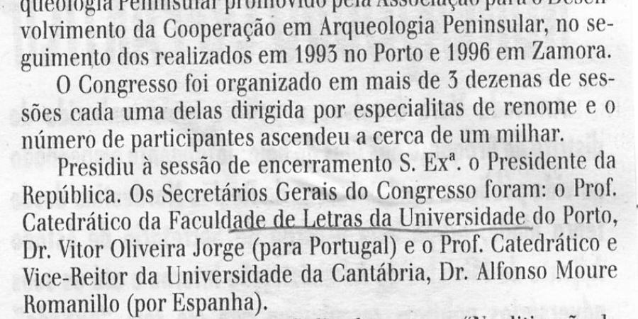 """(134) """"3.º Congresso de Arqueologia Penínsular"""" - 1999 10 01 TerraQuente ...-90r"""