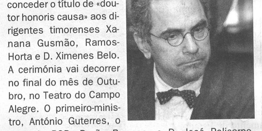"(69) ""Porto atribui honoris causa a timorenses"" - 2000 09 27 DEconomico 04-60r"