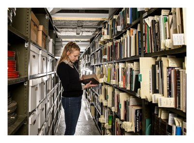 Stephanie Schmitz is the first Betsy Gordon Psychoactive Substances Research Archivist at Purdue University.