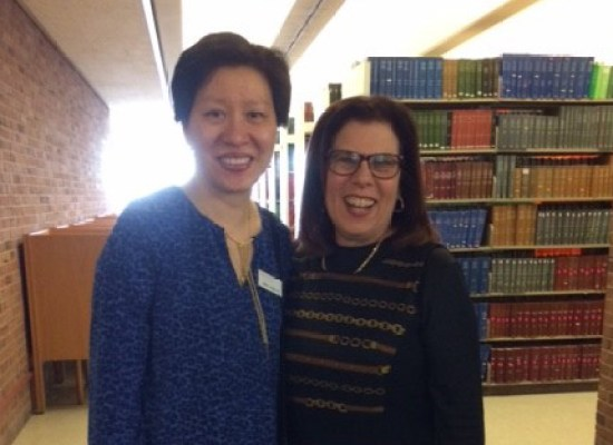Mei Ling Lo and Judy Cohn at LSM Open House