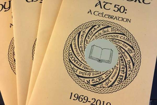 Mythlore, the journal edited by Janet Brennan Croft, celebrated its 50th anniversary this summer. Credit: Janet Brennan Croft.