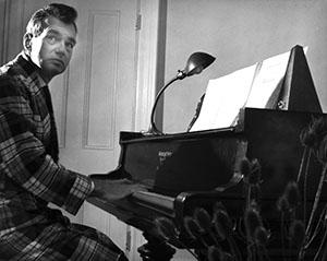 Robert Moevs at piano