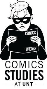 Comics Studies at UNT Logo
