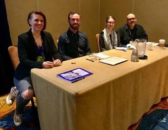 Comics & the Epistolary Tradition Panelists