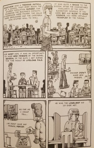 Page from My Friend Dahmer