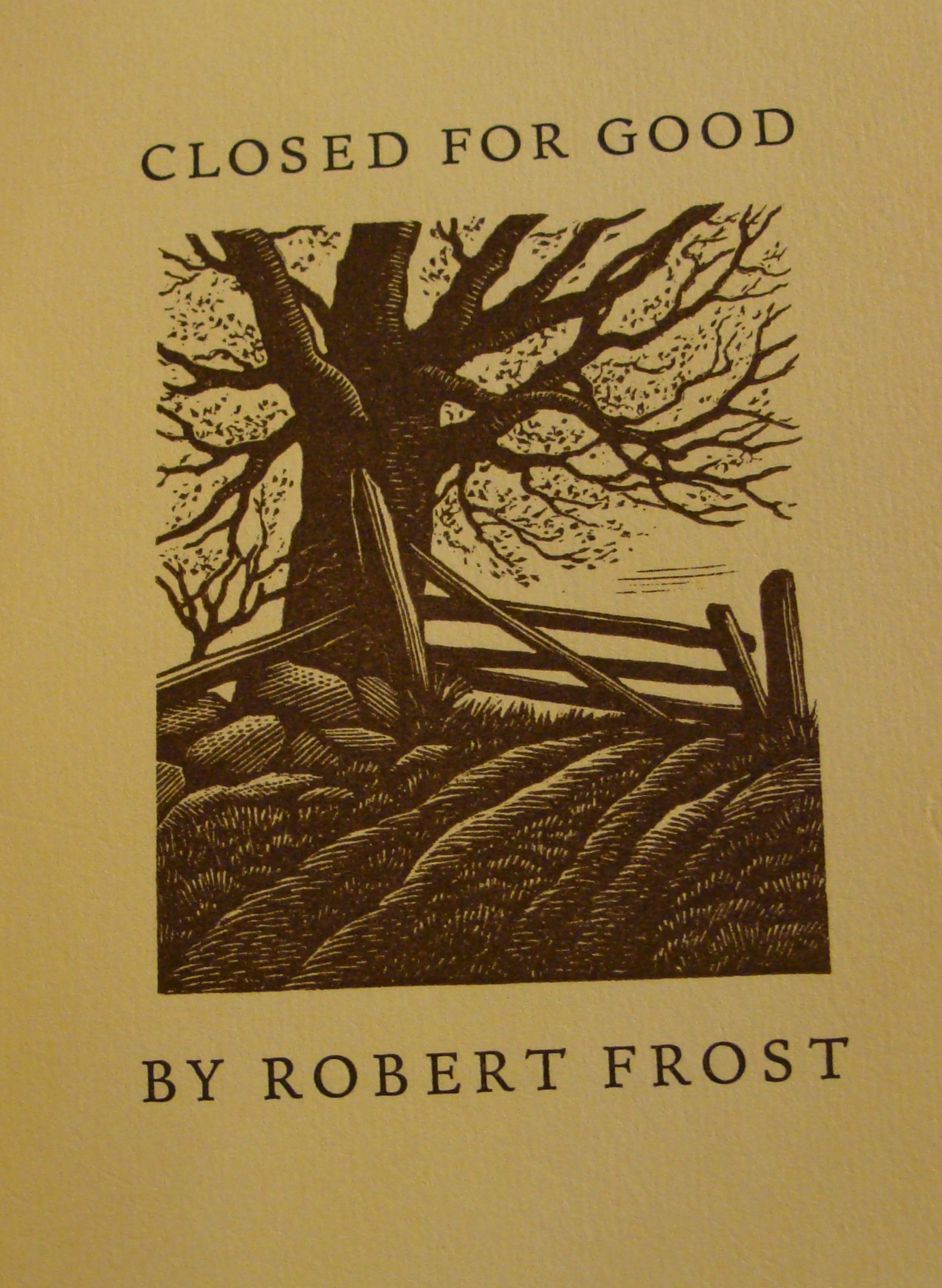 Christmas Greetings From Robert Frost From The Catbird