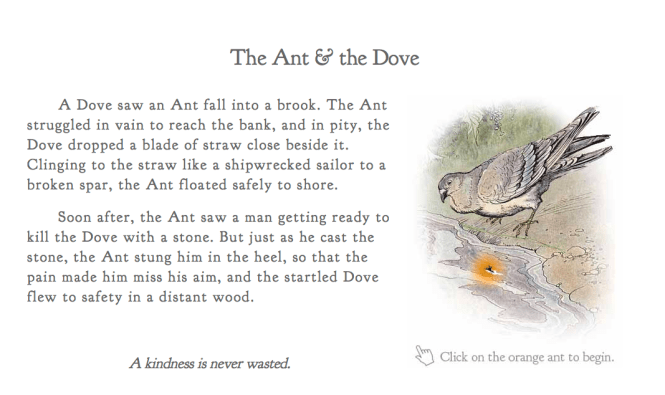 The Ant And Dove