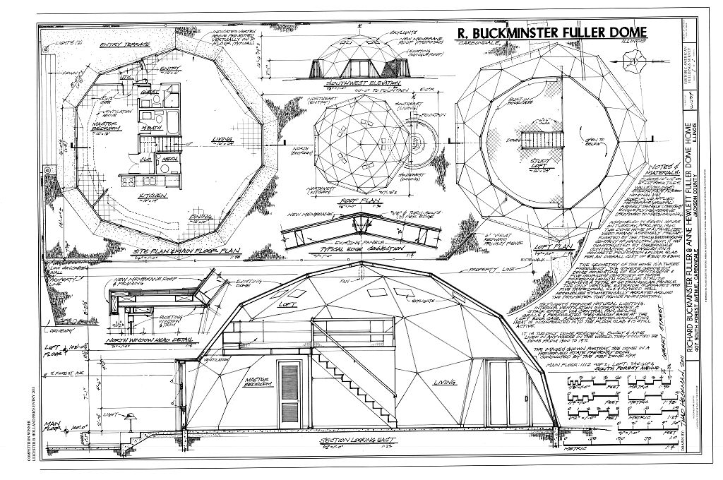Architectural Plan Section Elevation