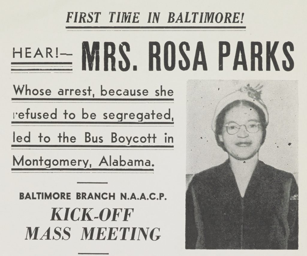 Using The Rosa Parks Collection To Foster Student Inquiry