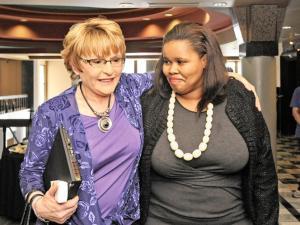 Lindiwe Mazibuko with Helen Zille