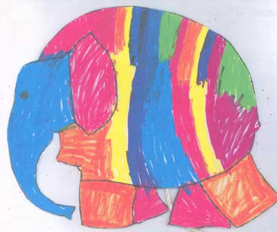 Elmer is a patchwork elephant who discovers the value in being different