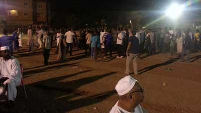 Sudanese protest in Khartoum (AFP)