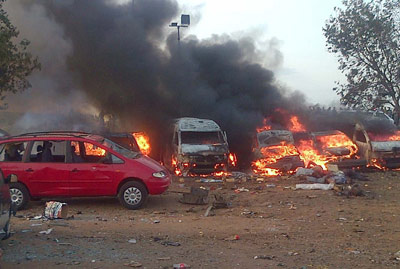 Boko Haram claimed responsibility for the recent attack on the bus station on the outskirts of Abuja Photo: AFP