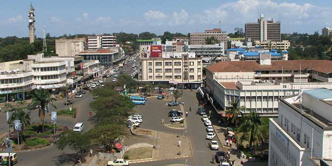 Kisumu, a city in Kenya which features heavily in this volume Credit: ds-lands.com