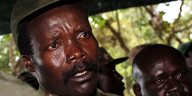 """""""Much of the scant media coverage the LRA conflict received in its twenty years in Uganda focused on Kony's religious lunacy, and his family's."""""""