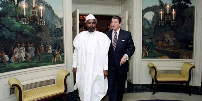 Reagan's US Administration was one of the foreign powers to help prop up Hissène Habré (Photo: Jean-Louis Atlan / Sygma / Corbis)