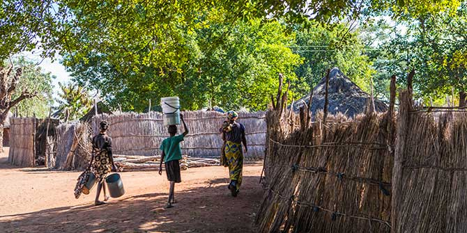Mukuni village, Livingstone, Zambia Photo Credit: Ninara via Flickr (http://bit.ly/1PNJBae) CC BY 2.0
