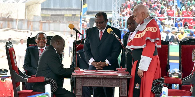 President John Magufuli was inaugurated as Tanzania leader in November 2015, but so far seems cautious in overhauling the constitution of the Union