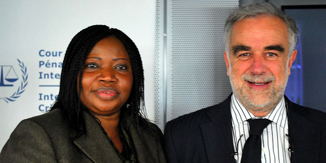 Fatou Bensouda and Luis Moreno Ocampo, the current and former Chief Prosecutor for the ICC have both made mistakes in their handling of cases Photo Credit: Coalition for the ICC via Flickr (http://bit.ly/2eTtdrR) CC BY-NC-ND 2.0