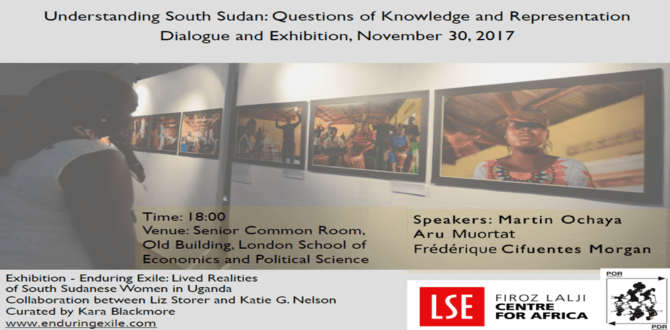 Understanding South Sudan: Questions of Knowledge and Representation