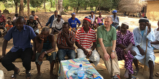 An experiment in participatory blogging on Ebola in Sierra Leone
