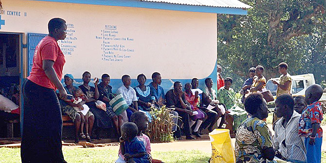 No 'Accountability' Without Conflict: Projects Targeting Health in Uganda #PublicAuthority