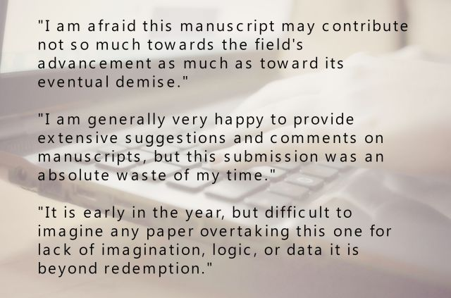 How to write a peer review to improve scholarship: Do unto others
