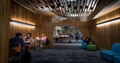 An image of Sorrells Library at CMU.