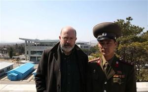 'Professor' John Sweeney in North Korea