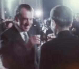 Cheers! Nixon in China